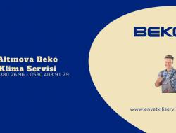 Altınova Beko Klima Servisi