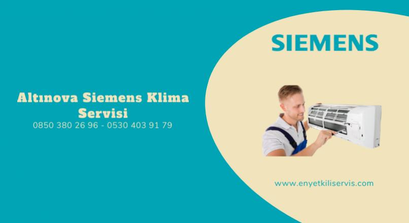Altınova Siemens Klima Servisi